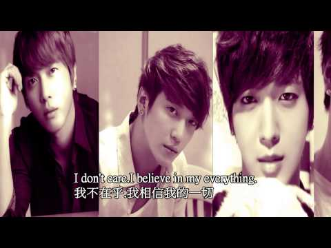 """CNBLUE """"Don't care"""" video Chinese English subtitles"""