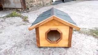 Видео домик для кошек и собачек
