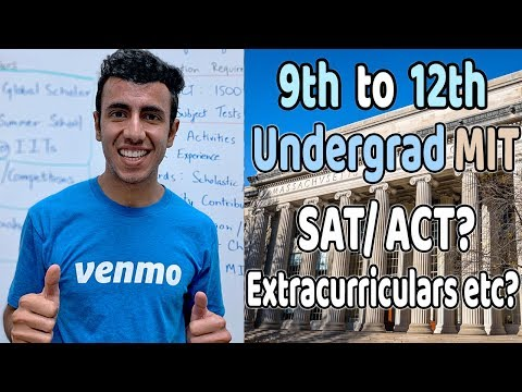 Indians 9th To 12th MIT Journey: Extracurriculars, SAT, Awards, Essays Etc