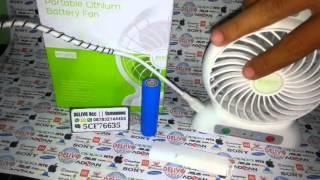 Kipas Angin Portable DELIVO Gadget Acc COD Semarang