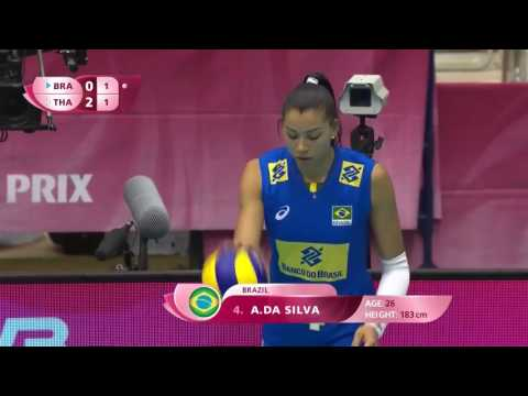 Sport Tv Brazil v Thailand - Full Game Highlights | 2017 FIVB Volleyball World Grand Prix
