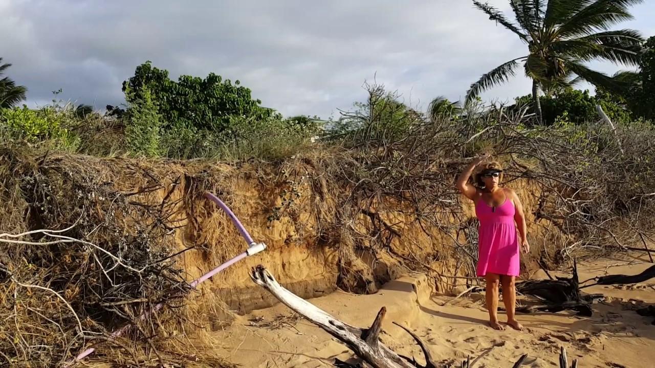 Kaanapali Beach Erosion