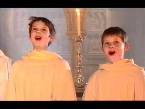 Canon In D Christmas Song Children's Choir Lyrics - Music Video HD