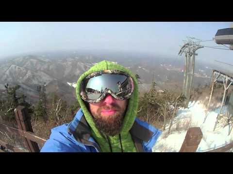 Skiing & Snowboarding in Pyeongchang South Korea