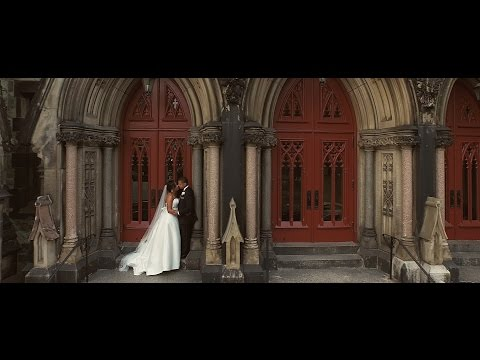 Elegant Wedding Video at George Peabody Library Baltimore MD