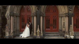 Elegant Wedding Video at George Peabody Library Baltimore MD