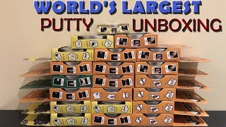 WORLD'S LARGEST PUTTY UNBOXING!!!