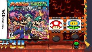 Casino en el volcán/Mario y Luigi Compañeros en el Tiempo #30