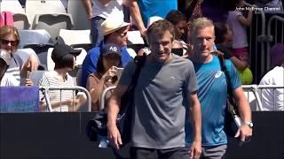 Johansson/Wilander vs McEnroe Brothers - Australian Open 2018