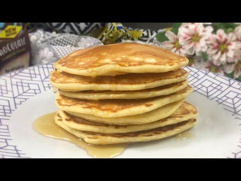 How To Make Pancakes American Pancake Recipe Fluffy Pancake Easy Pancake Recipe Pan Cake Day Youtube