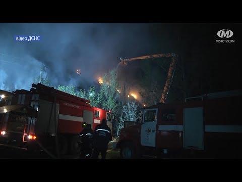 МТРК МІСТО: Пожежа на сміттєзвалищі