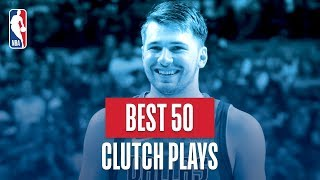NBA\'s Best 50 Clutch Plays | 2018-19 NBA Regular Season
