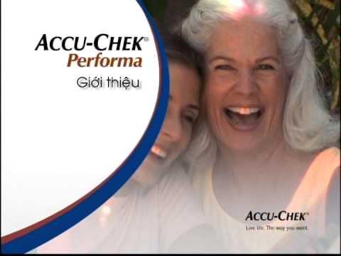Hướng dẫn sử dụng máy đo đường huyết Accu-Chek Performa