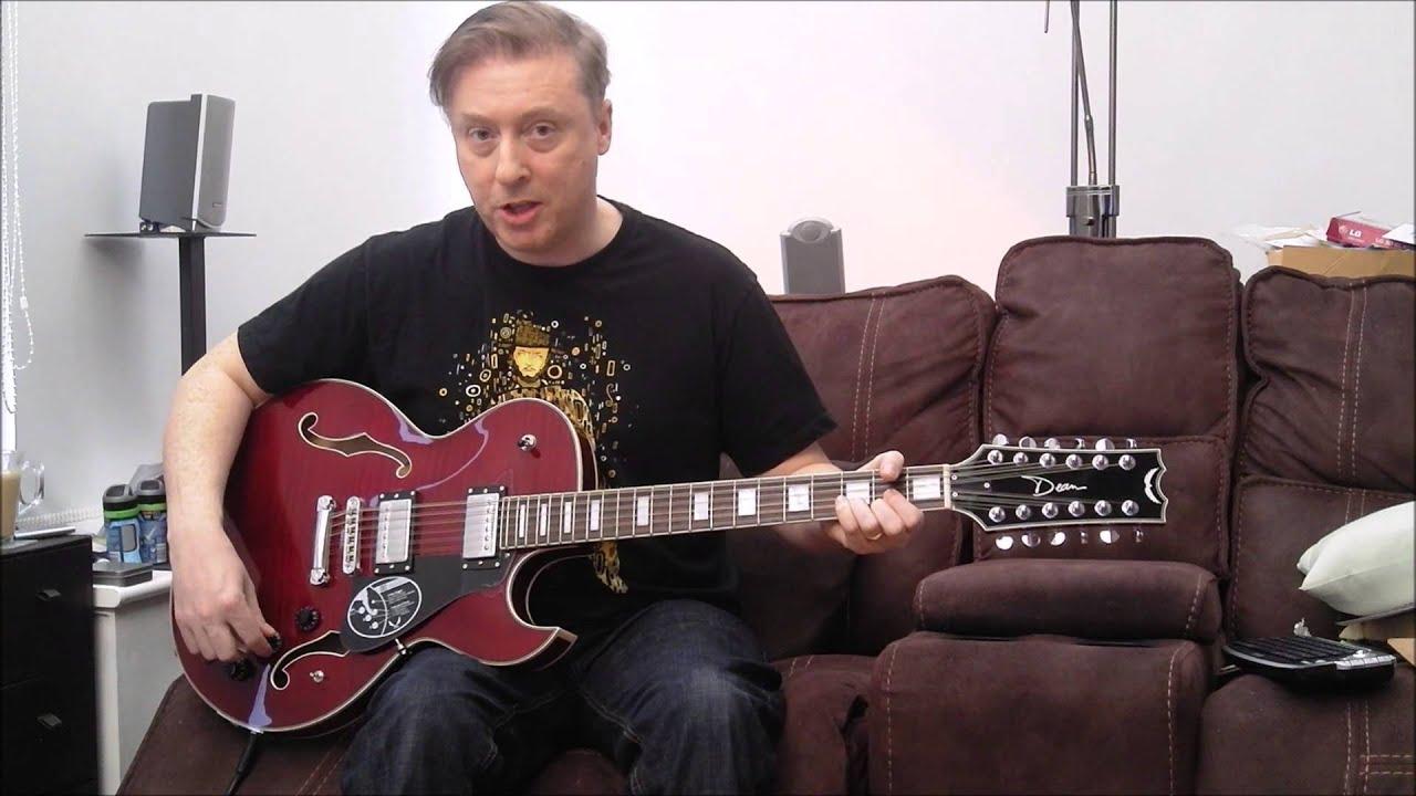 dean colt 12 string guitar youtube. Black Bedroom Furniture Sets. Home Design Ideas
