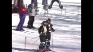 Урок 11  Видео как научиться кататься на горных лыжах