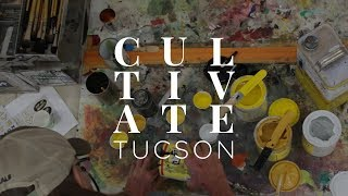 Cultivate Tucson Sign Painting Final