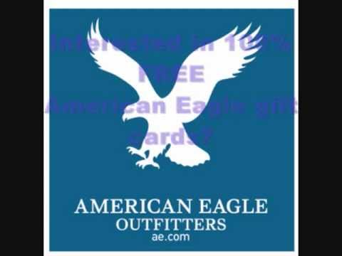 Free American Eagle Gift Cards!