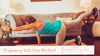 Quick, Pregnancy Safe Core Workout