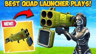 NEW *QUAD LAUNCHER* IS INSANE! - Fortnite Funny Fails and WTF Moments! #348