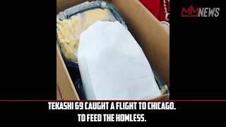 Tekashi 69 takes a flight to Chicago and gets on IG live with FBG Duck [My Mixtapez News]