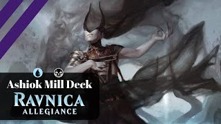 Ashiok are a beast (sometimes)!! | Dimir mill deck - War of the spark standard MTG arena