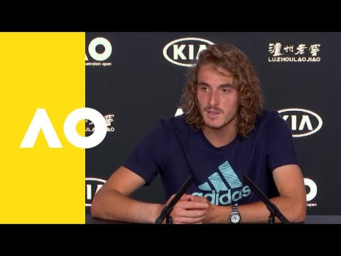 Stefanos Tsitsipas press conference (SF) | Australian Open 2019