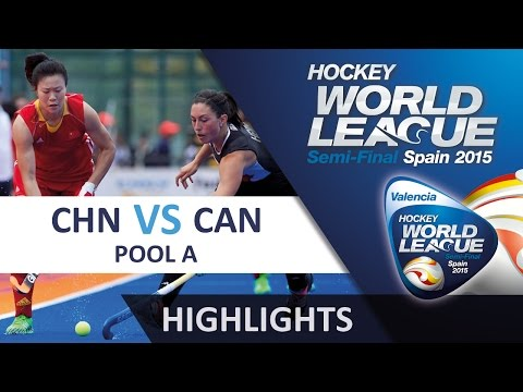 China v Canada Match Highlights