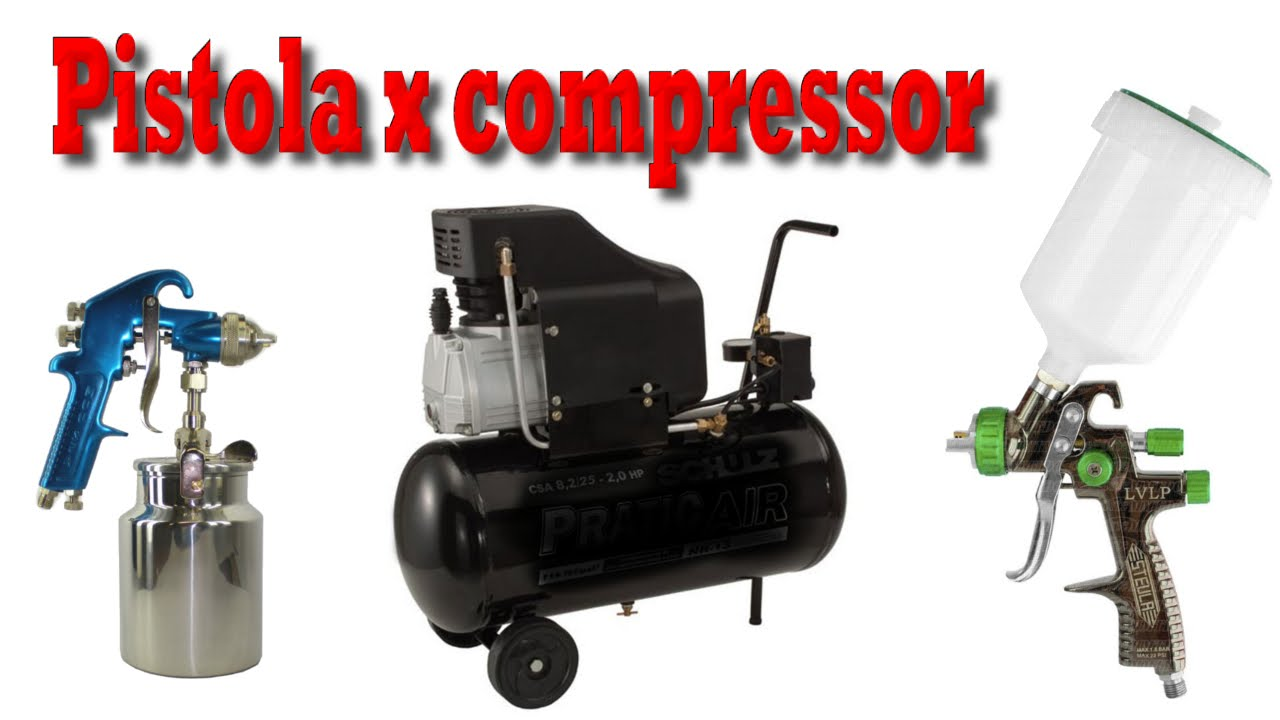 Como escolher pistola de pintura para compressor 24 litros - Pistola pintura compresor ...
