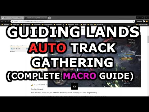 MHW Guiding Lands Auto Track Gathering (SOLO)-Complete Guide To Setting Up A Macro (Exploit Kinda)