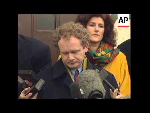 NORTHERN IRELAND: BUG CLAIM ENDS SINN FEIN BRITISH TALKS