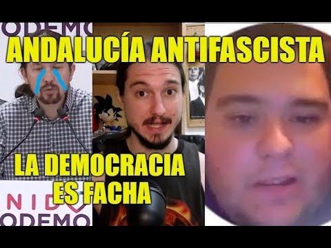 Protestas contra VOX en Andalucía - Pablo Iglesias y Soldado Cebolleta - Coto de Caza Progre 37