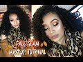 Fall Glam Makeup Tutorial | Morphe X Jaclyn Palette