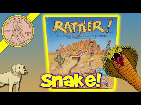 Rattler Game - If The Rattler Strikes, You Get A Snake Bite!