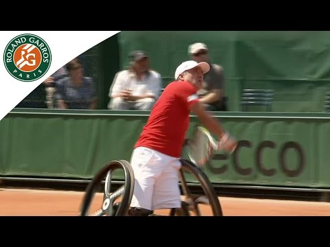 Wheelchair tennis is rising - 2015 French Open