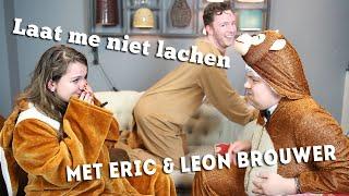 LAAT ME NIET LACHEN! | met Eric & Leon Brouwer