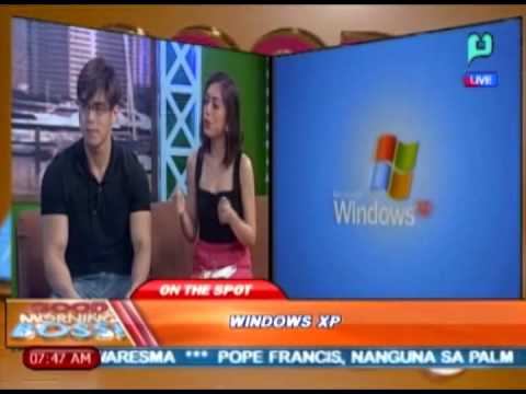 [Good Morning Boss] Panayam kay Jerry Liao ukol sa Windows xp [04|14|14]