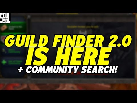 GUILD FINDER, COMMUNITY SEARCHES And How It Works: 8.2.5 Preview And Feedback