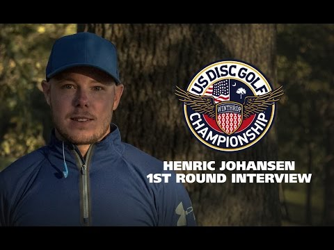 USDGC2015 First Round Interview - Henrik Johansen