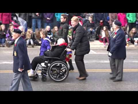 Remembrance Day Video 2015 In Shelburne, ON