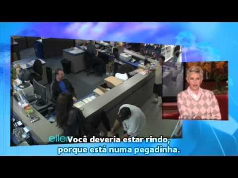 Sofia Vergara (Modern Family) em pegadinha no programa da Ellen Degeneres
