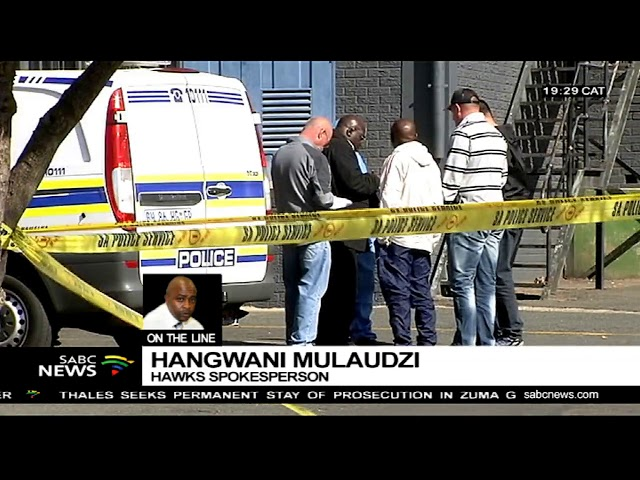 Hangwane Mulaudzi on arrest of cash in transit heists suspects