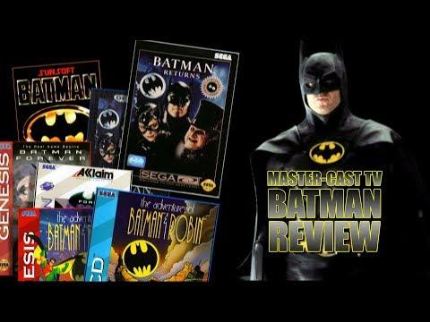 Batman On Sega Platforms (Genesis/Sega CD/Saturn) Review - Master-Cast TV