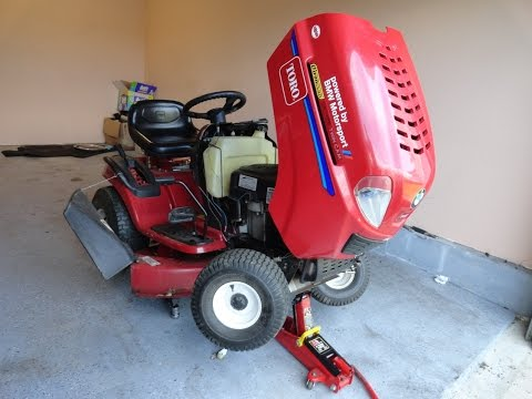 DIY Get Your Lawn Tractor Ready For Spring TORO Lx 425