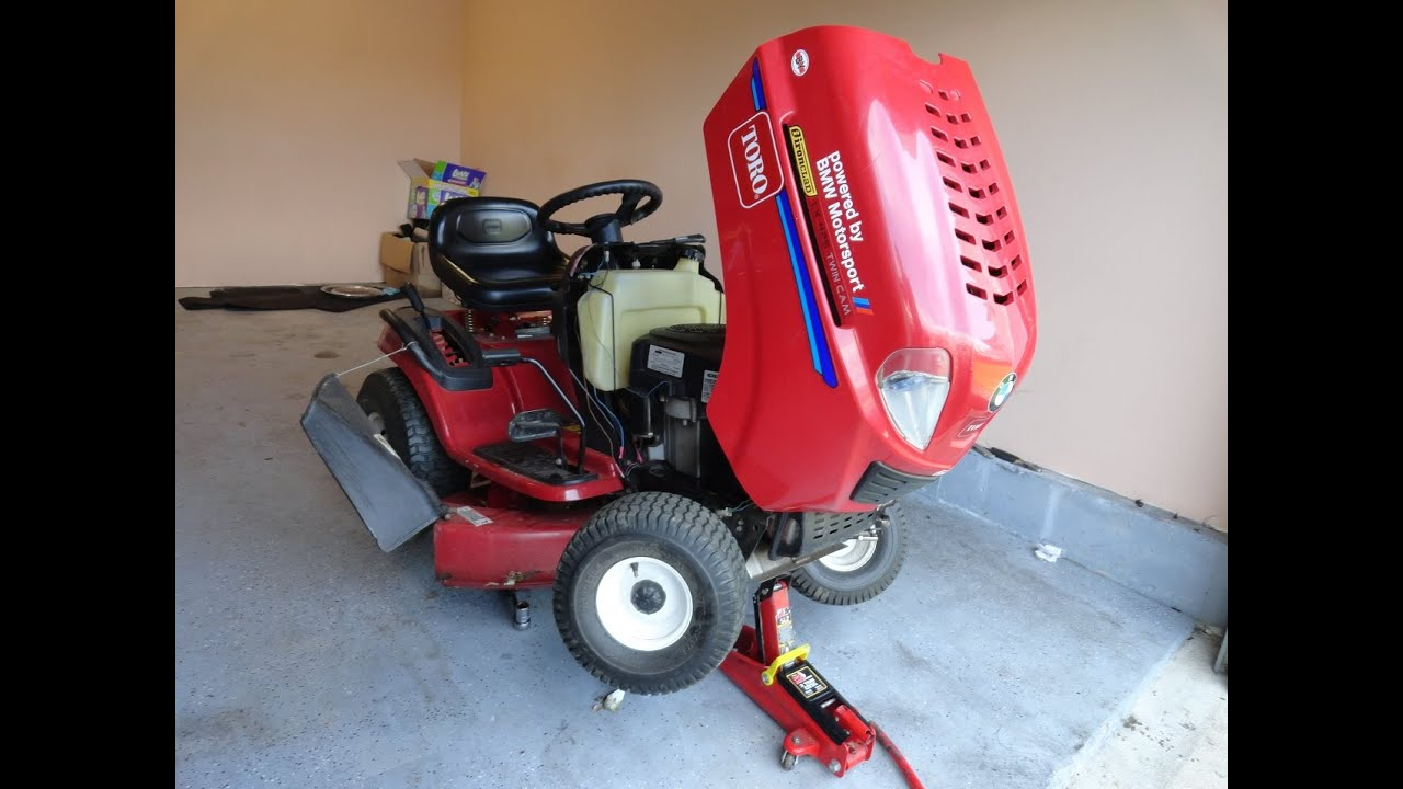 small resolution of diy get your lawn tractor ready for spring toro lx 425 kohler 20hp