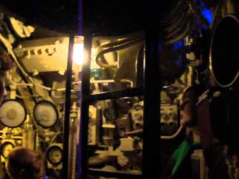 German U505 Submarine Tour