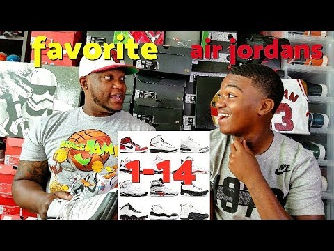 OUR FAVORITE AIR JORDANS 1-14!!! 👊💯🔥