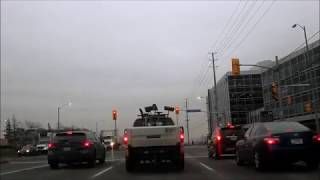 Driving G Full License Road Test (Highway, G2 Exit) Mississauga, Ontario, Canada with TIPS!