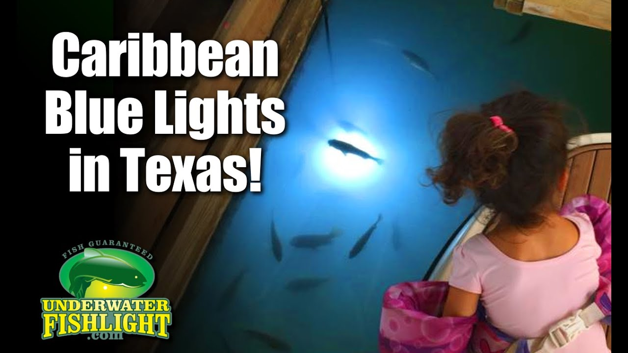 caribbean blue dock lights in texas - youtube, Reel Combo