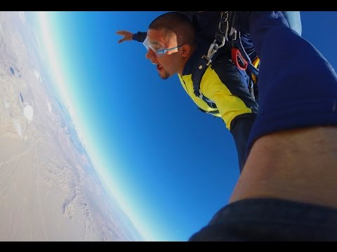 Omar and Marina Vegas Extreme Skydiving