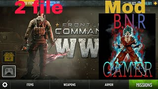 Best Frontline Commando  WW2 game mega hack mod ll apk+data ll offline+Online ll Android